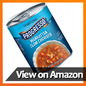 Progresso Soup, Traditional, Manhattan Clam Chowder Soup​
